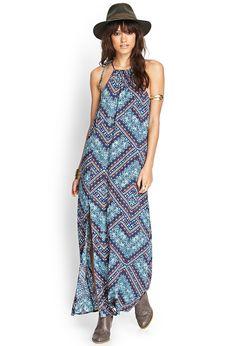 Abstract Geo Maxi Dress | FOREVER21 #SummerForever #SUMMERFOREVER #F21XME