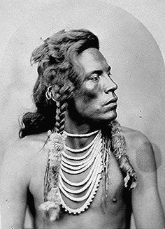 Curley, Crow scout for Custer at Little Bighorn 1876.