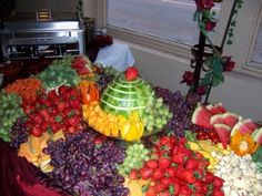 fruit displays for wedding receptions | Spotlights tagged with 'Wedding Reception'