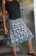cute and easy skirt