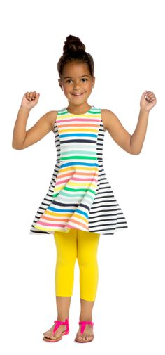 love the rainbow colors - PIN TO WIN! Enter the Sunny Days Pinterest Contest for a chance to win a brand-new FabKids wardrobe! Ends 6/30 @FabKids #FabKidsSunnyDays