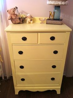 antique dresser redo - vintage restoration