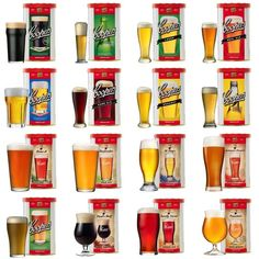 Coopers Series Home Brew Beer Kits , Home Brew , Beer Making full Range Beer Making Kits, Wine Making, Beer Kits, Beer Brewing, Home Brewing, How To Make Beer, Food To Make, Home Brew Beer Kit, Beer Ingredients