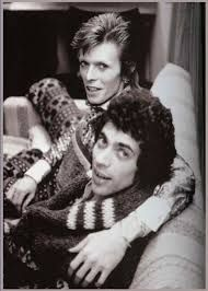 David Bowie and Geoff MacCormack 1973 David Bowie Born, David Bowie Starman, David Jones, Young And Beautiful, Beautiful Men, Lovers Eyes, The Thin White Duke, Major Tom, Ziggy Stardust