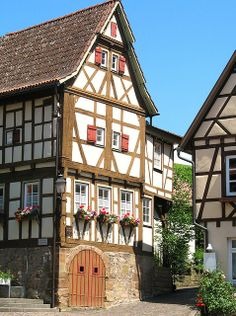 Wood Doors in Strümpfelbach, Baden-Wurttemberg, Germany