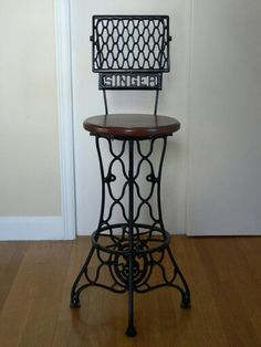 Sewing machine stool