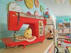 Sewing Room Ideas - The Seasoned Homemaker