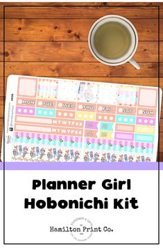 Oh my goodness! What is the point of a Hobonichi Weeks if you're not decorating it with the cutest stickers ever? This kawaii planner girl sticker kit is perfect for making a bright and cheery spread in your Hobo or Fauxbo weeks planner. Kawaii Planner, Cute Planner, Happy Planner, Kawaii Stickers, Cute Stickers, Planner Supplies, Hobonichi, Small Shops, Bullet Journals