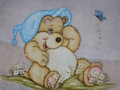 pintura em tecido fraldas filo frigo - Pesquisa Google