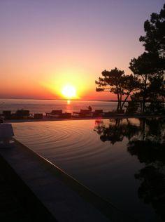 La Co(o)rniche Restaurant #sunset #coucherdesoleil