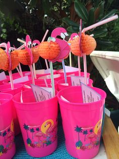 Miami Vice Inspired Party For Twin Boy Twice Home Made Lemonade Recipe Favors Lemon Straw Novelty Cup And A