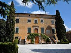 Villa di Ulignano , Volterra, Tuscany, Italy