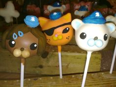 Octonaut Pops - so cute!  I wish I could do this. Stephen would love. Gona try