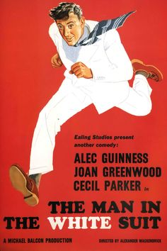 The Man In The White Suit (1951) Alec Guinness, Joan Greenwood, Cecil Parker. Dir Alexander Mackendrick