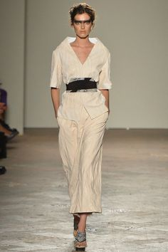 Gabriele Colangelo Spring 2014 Ready-to-Wear Collection Slideshow on Style.com