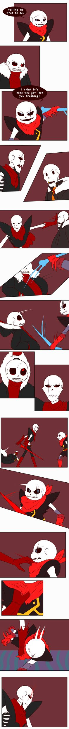 Previous: First: Last: First joke and first smile from Sans. Hhhhhhh.