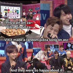 "VIXX ☆ I wouldn't exactly call it a "" song "" tho 😂 Btob, Vixx, Bts Got7, Jackson, Meme Center, Celebrity Dads, Celebrity Style, Kpop Guys, Korea"