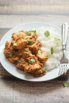 Indian Pepper Chicken Masala - a weeknight Indian dish from thewanderlustkitchen.com