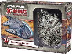Star Wars: X-Wing Miniatures Game – Millennium Falcon Expansion Pack | Board Game | BoardGameGeek