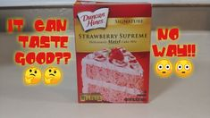 Hey everyone in today's video I show you how to make box cake mix good and this recipe is universal and can be used with almost any box cake and jello puddin. Strawberry Crunch Cake, Strawberry Box, How To Dr, How To Make Box, Doctor Cake, Butter Pecan Cake, Cake Recipes, Yummy Recipes, Pastries