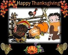 Betty Boop Thanksgiving image by kpilkerton - Photobucket Thanksgiving Pictures, Happy Thanksgiving, Betty Boop Halloween, Animated Gif, Animation, Bb, Fall, Autumn, Holidays