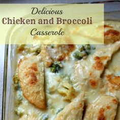 Delicious Chicken and Broccoli Casserole without canned soup!