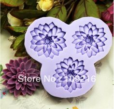 Aliexpress.com : Buy Free shipping!!! 3D Mini 3 Three Layers Petal Flower (F0198)  Silicone Handmade Fondant  Mold Crafts DIY Mold Cake Decorating from Reliable Silicone Fondant Mold suppliers on Silicone DIY Mold and  Home Supplies Store $12.78
