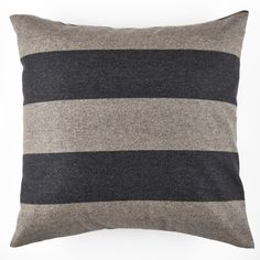Fine English Wool is crafted into a beautiful square decorative pillow in your choice of three sizes and filled with a feather / down insert.  An envelope back closure assures you easy removal for spot cleaning.  This pillow will bring a fresh new life to any room!