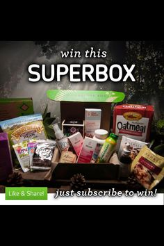 We're giving away a huge super Conscious Box this week! Subscribe by April 6th and you're automatically entered to WIN! Like and Repost! #consciousbox #contest #win #vegan #glutenfree #giveaway #ecofriendly #sustainable #awesome