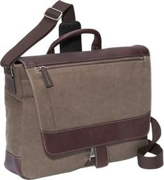 Bellino Autumn Laptop Messenger Brown - via eBags.com!
