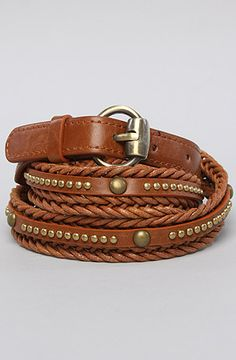 The Stay Out Late Belt in Brown by *Accessories Boutique