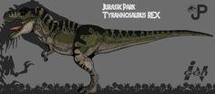 Jurassic Park: Tyrannosaurus Rex ( updated art) by Hellraptor