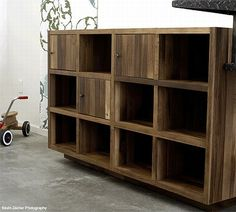 Reclaimed, Environmentally Friendly Cubbies!