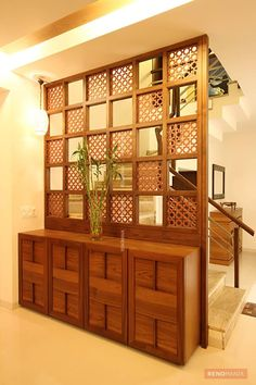 Inspiring Indian Home Design Ideas. Indian home design ideas must be unique and interesting ideas to apply inside your home. The different cultures of India is … home design inspiring indian home design ideas 301952350018531986 Living Room Partition Design, Living Room Divider, Room Partition Designs, Partition Ideas, Wall Partition, Living Room Entrance Ideas, Entrance Decor, Indian Interior Design, Indian Home Design
