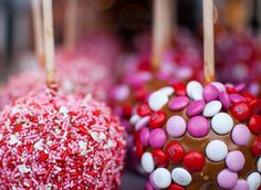 Valintines day #candy apples