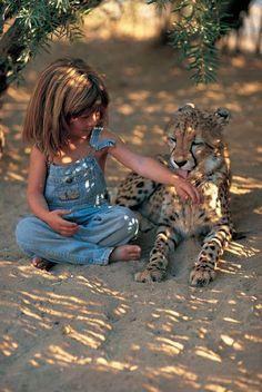 #children #animals
