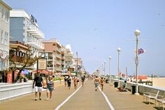 Ocean City Boardwalk, Maryland.....love this place!  Spent many years here as a child!