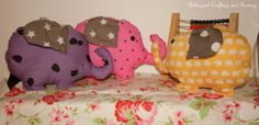 Stuffed Plush Elephant