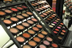MAC Makeup ~ I didn't believe there was a difference. I am a believer now! Save your compacts for a free lip gloss!