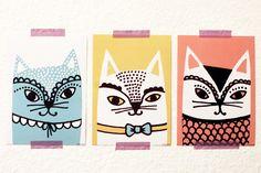 Katze - Big Card Set, €10,00