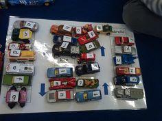 Mrs Cooper's Nursery: word car park