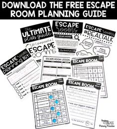 Escape Rooms for the Classroom
