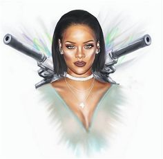 Rihanna Drawing...