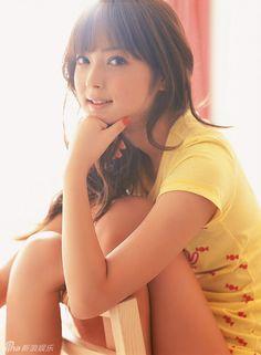 佐佐木希  yellow and orange, lovely