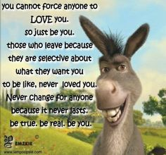 You can't force anyone to love you so just be you...