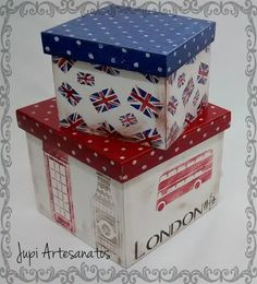 Jupi Artes: Caixas Decoupage Vintage, Decoupage Wood, Decor Crafts, Diy And Crafts, Country Crafts, Painted Boxes, Vintage Box, Diy Box, Wooden Crafts