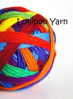kodachrome self striping sock yarn by lollipopyarn on etsy also trailing clouds nimbus self striping - Coloring Book Yarns