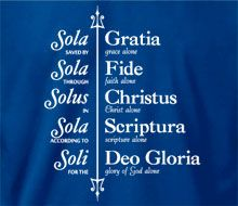 """Sola"" does not mean 'alone'. in Lutheranism there are 5 'solas,' which means it is not Bible alone, but Christ and grace and faith and Bible 'soley' for the Glory of God. Sola Fide, Sola Scriptura, Bible Verses Quotes, Faith Quotes, Christus Tattoo, Reformation Sunday, 5 Solas, Latin Phrases, Soli Deo Gloria"