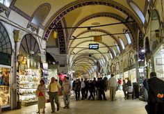 the grand bazaar in istanbul  . . .  if you're a shopper, this is a must visit!