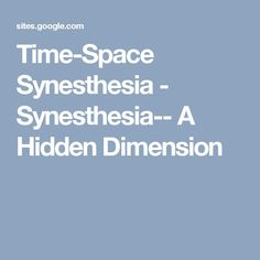 Image result for ss synesthesia